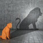 Concept,Of,Hidden,Potential.,A,Paper,Figure,Of,A,Cat