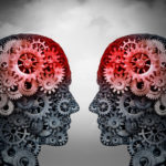 Telepathy,And,Mind,Reading,Psychology,Or,Mental,Connection,Concept,As